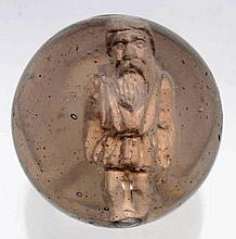 Santa Claus Sulphide Marble.