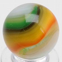 Akro Agate Hybrid Popeye Marble.