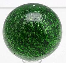 Large Green Mica Marble.