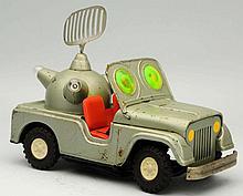 Tin Painted Batter Op. Martian Super Space Patrol