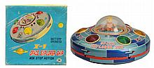 Battery Operated Space Explorer Ship X-7.