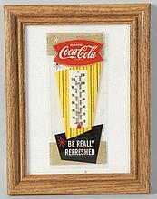 Coca-Cola Thermometer.