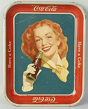 1950s Coca-Cola Serving Tray.