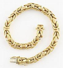 18K YG Bracelet.