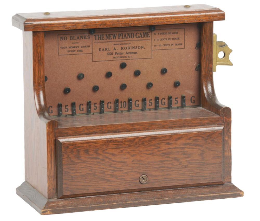 1¢ THE NEW PIANO GAME FLIP COIN TRADE STIMULATOR