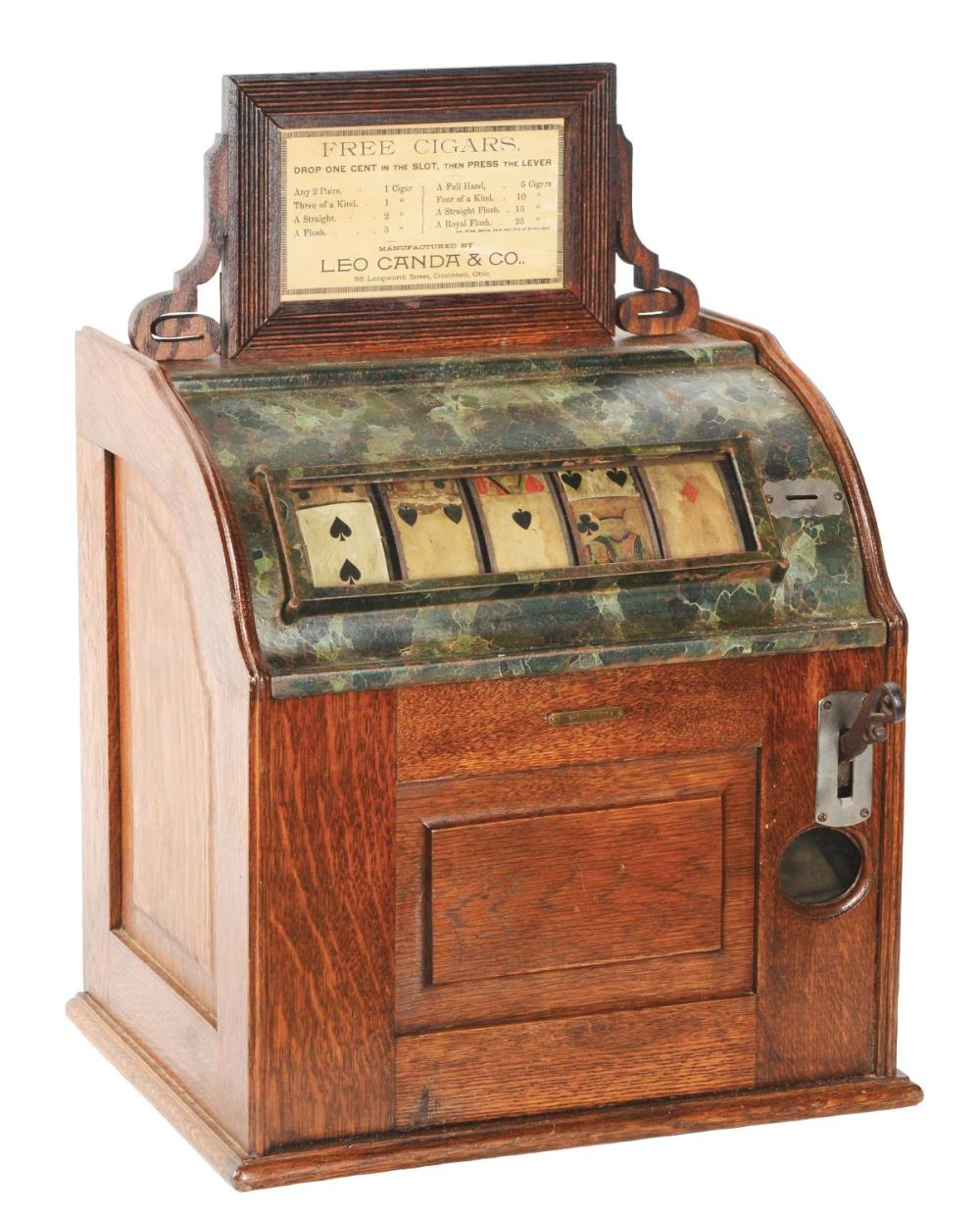 1¢ LEO CANDA COUNTER JUMBO CIGAR TRADE STIMULATOR.