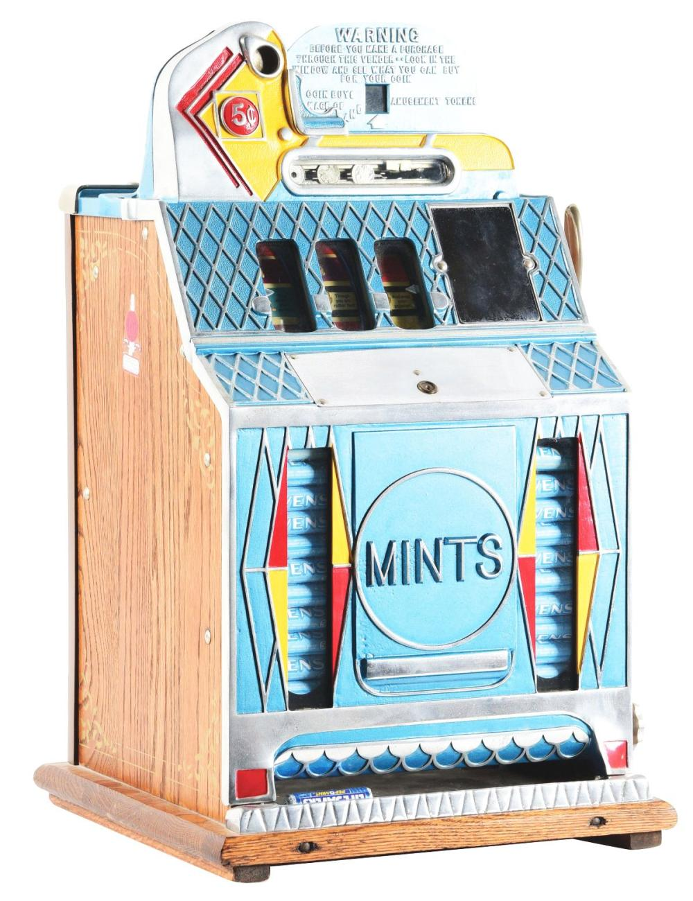 5¢ MILLS FUTURE PAY MINT SLOT MACHINE.