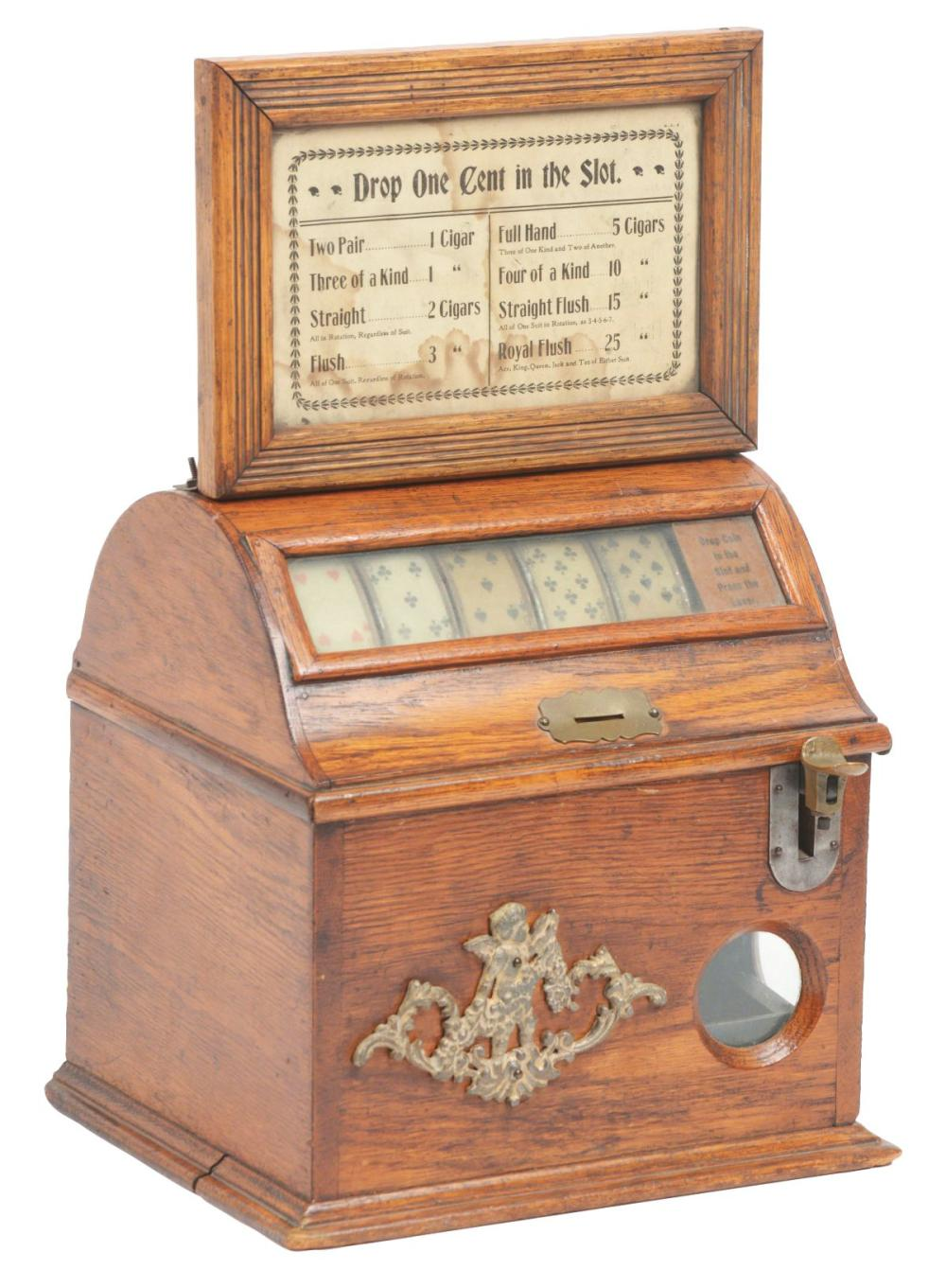 1¢ LEO CANDA LITTLE PERFECTION CIGAR TRADE STIMULATOR.