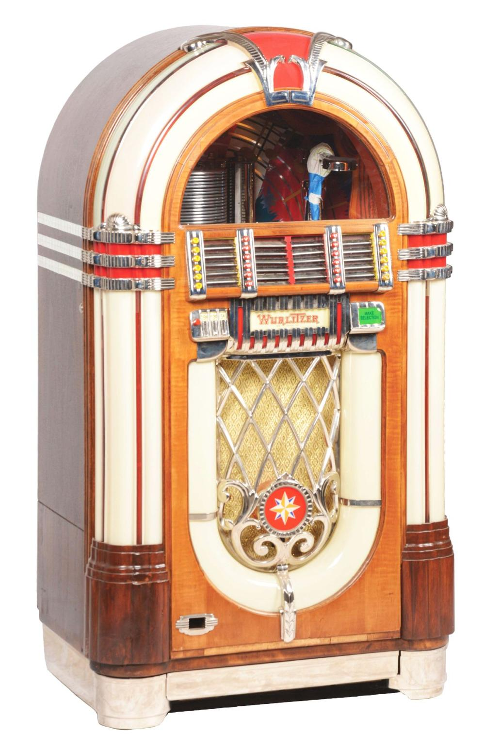 WURLITZER MODEL 1015 JUKEBOX.