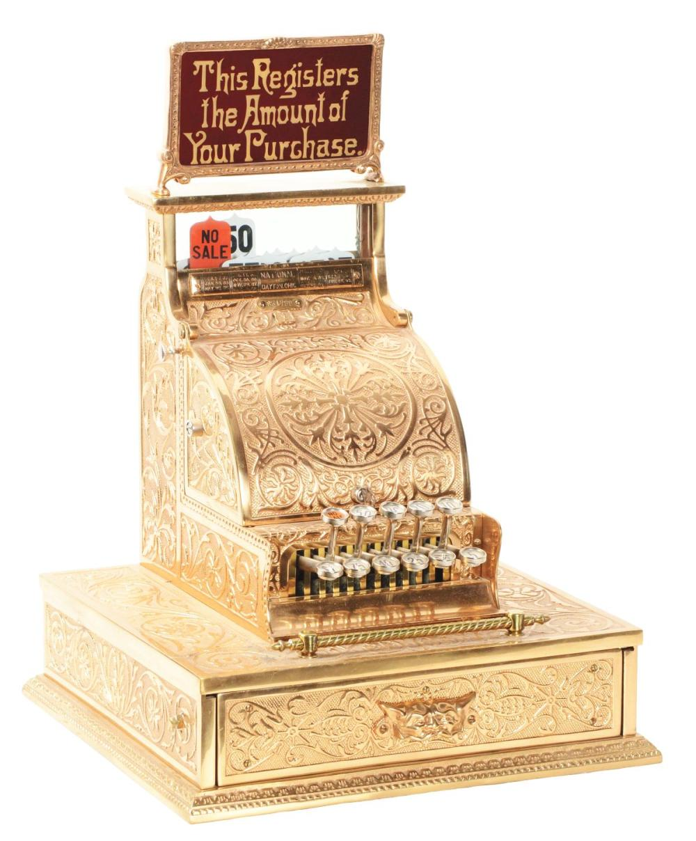 NATIONAL CASH REGISTER CO. MODEL #1.
