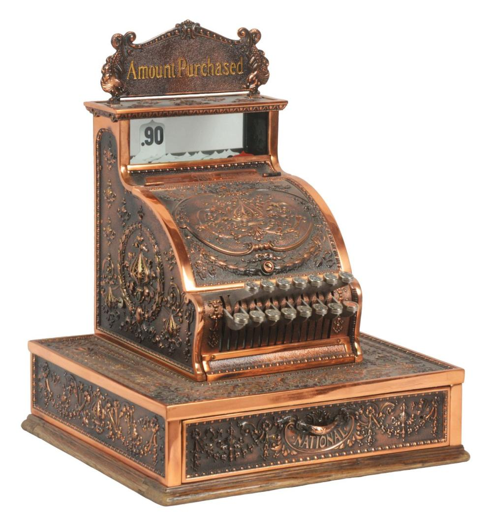 NATIONAL CASH REGISTER CO. MODEL #321.