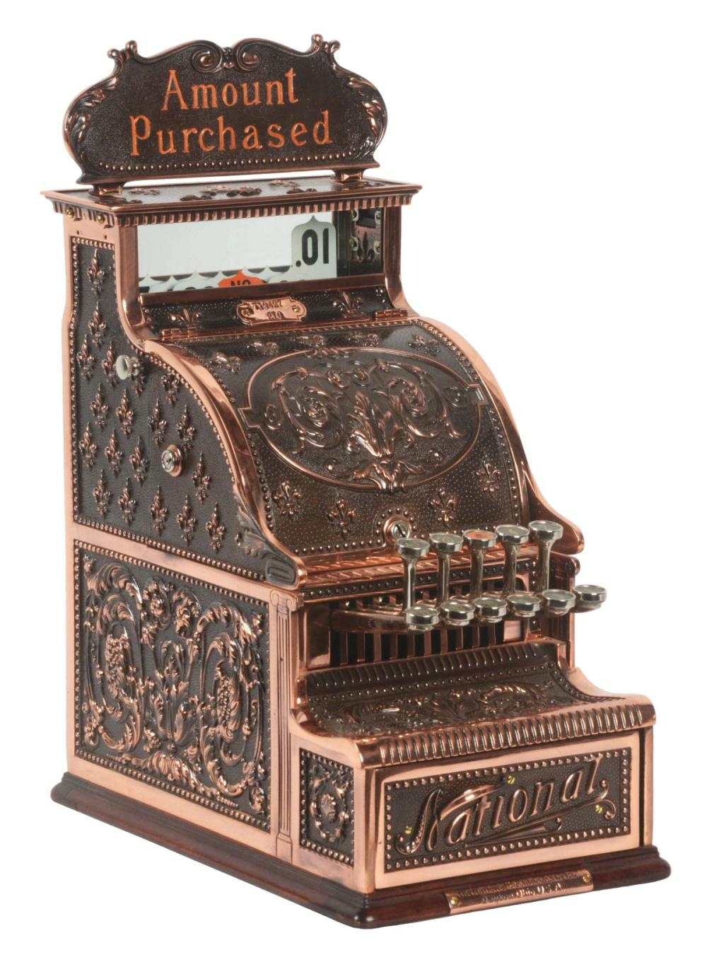 NATIONAL CASH REGISTER CO. MODEL #210.