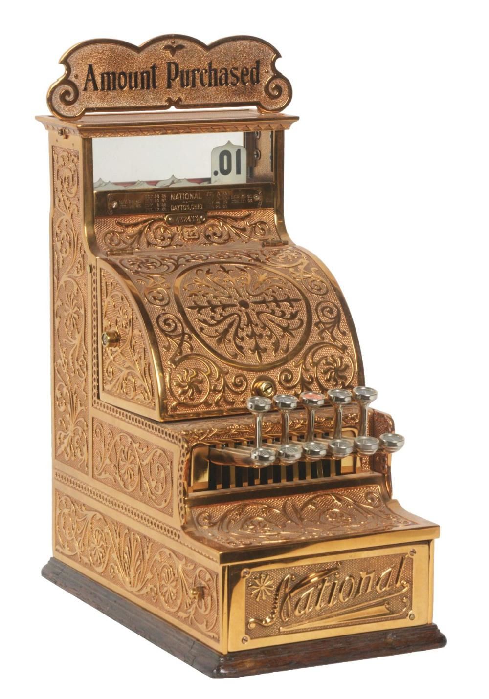 NATIONAL CASH REGISTER CO. MODEL #12.