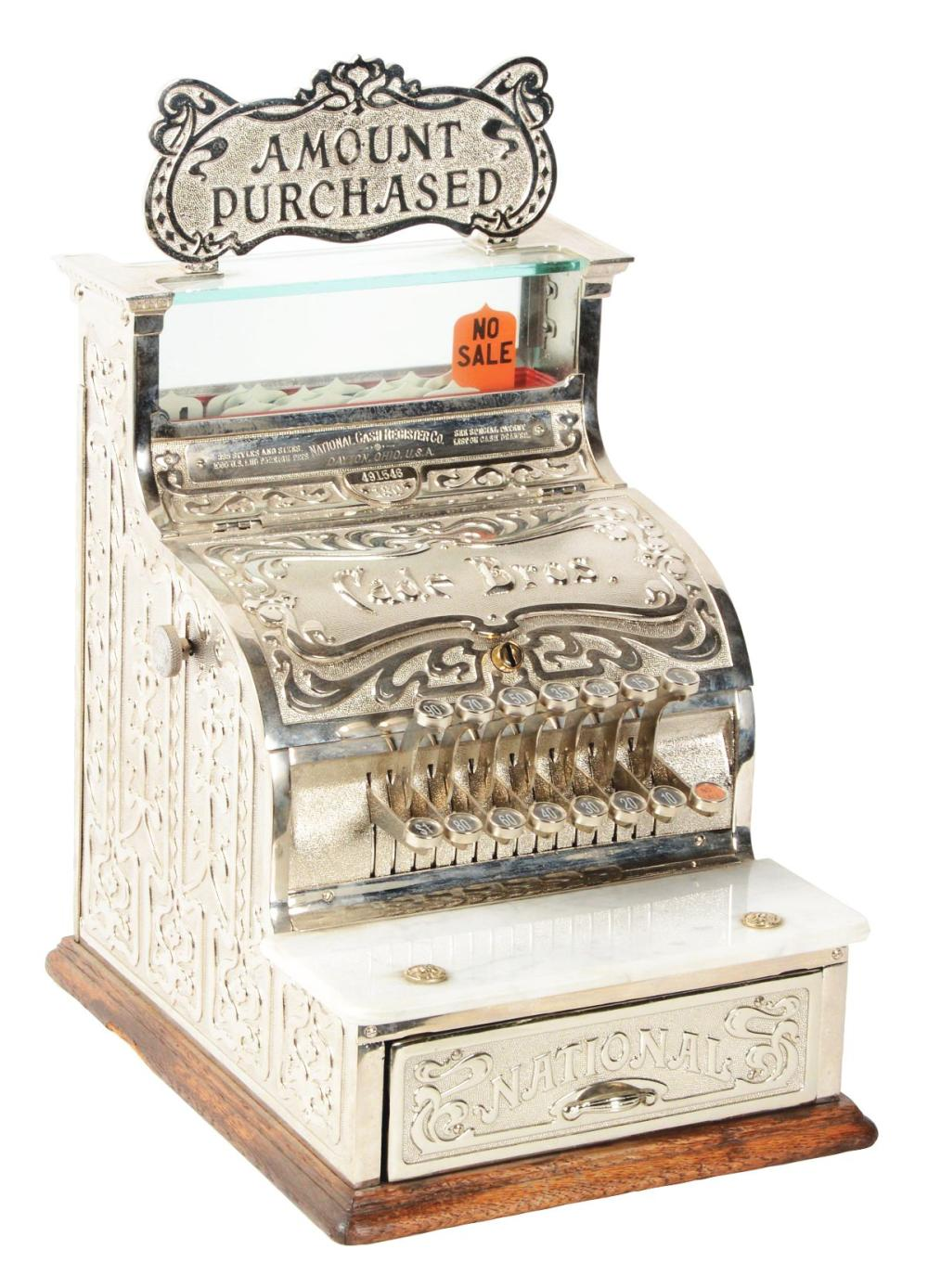 NATIONAL CASH REGISTER CO. MODEL #130.