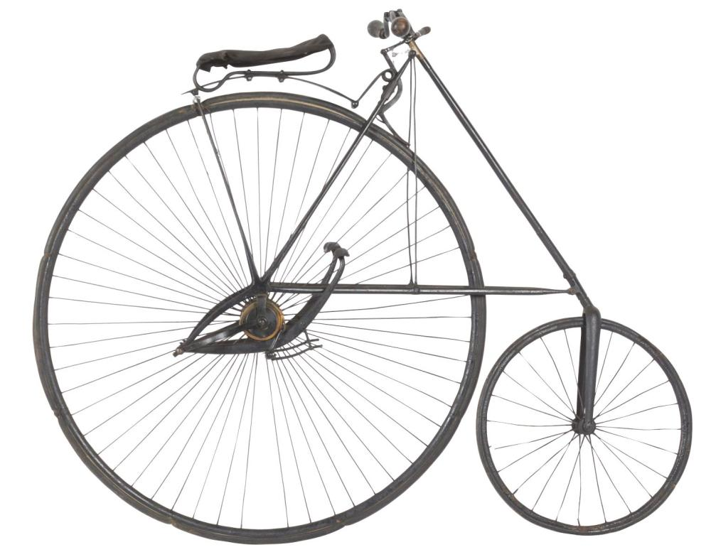 "H.B. SMITH ""AMERICAN STAR"" HIGH WHEEL BICYCLE."