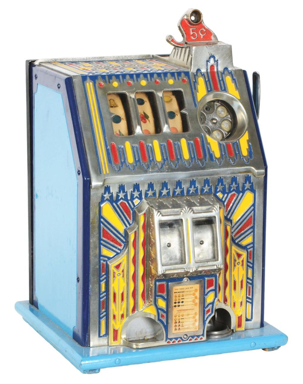 5¢ PACE COMET SLOT MACHINE.