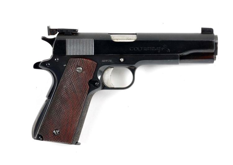 C Custom Colt Model 1911 38 Super Target Pistol