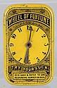 Wheel of Fortune Flat Pocket Tin.