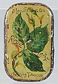 Rose Leaf Chewing Tobacco Flat Pocket Tin.