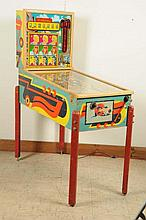 Williams Nine Sisters Pinball Machine (1953).