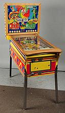Gottlieb's Whirl-Wind Pinball Machine with  Keys.