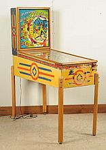 Gottlieb Minstrel Man Pinball Machine (1951).