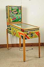 Gottlieb Bank a Ball Pinball Machine (1950).