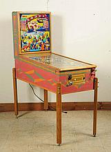 Gottlieb Knock-Out Pinball Machine (1950).
