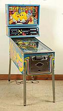 Bally Mr. & Mrs. Pac Man Pinball Machine (1982).