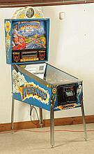 Williams Whirlwind Pinball Machine (1989).