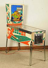 Gottlieb Bank Shot Pinball Machine.