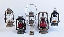 Lot of 6: Lanterns.