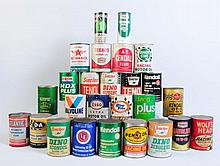 Lot of Assorted Oil Cans.