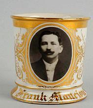 Early Photographic Image Shaving Mug.