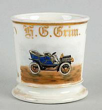Early H.G. Grim Four-Seater Car Shaving Mug.