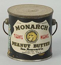 Monarch Peanut Butter Pail w/ Handle.