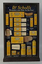 Dr. Scholls Remedies & Aids for Feet Display Case