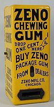 Zeno Chewing Gum Coin-Op Machine.