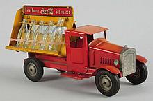 Pressed Steel Metalcraft Coca-Cola Toy Truck.