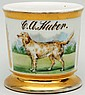 Golden Retriever Dog Shaving Mug.