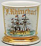 Three Masted Gun Boat Shaving Mug.