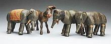 Lot of 4: Schoenhut Animals.