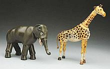 Lot of 2: Schoenhut Animals.