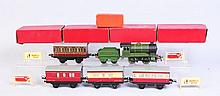 Assortment of Hornby Trains.
