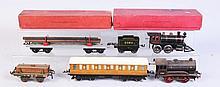 Assortment of European O Gauge Trains.