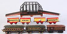 Mixed Lot Ives, Bing, Hafner Rolling Stock.