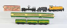 Assorted Lot of Marx Trains.