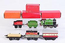 Hornby O Gauge Trains.