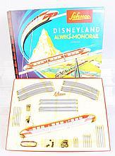 Schuco Disneyland Mono Rail Set in Box.