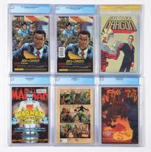 Lot 2034: Lot of 18: Graded Contemporary Comic Books.